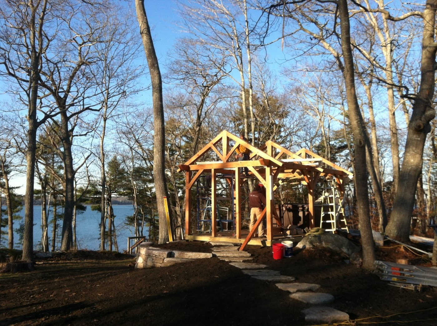 Mere Point Hot Tub Pavilion