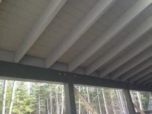Timber Frame Porch Ceiling